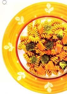 Fusilli con verduras