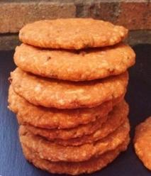 Galletas de sobrasada con queso