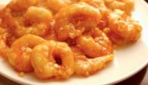 Receta de Gambas rebozadas con salsa picante