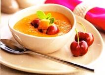 Gazpacho de cereza y tomate