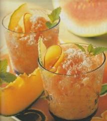 Receta de Granizado de frutas mixtas