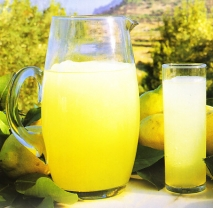 Granizado de limón