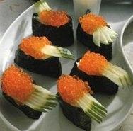 Gunkan-Maki con caviar