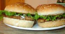 Hamburguesa de pollo de corral en Thermomix