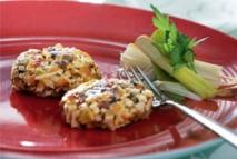Hamburguesas de tofu y verduras
