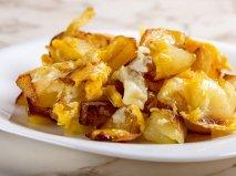 Receta de Huevos estrellados con patatas