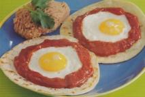 Huevos rancheros mexicanos