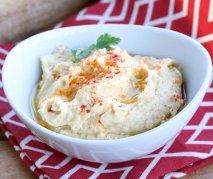 Hummus con tahina turco