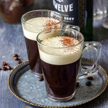 Receta de Irish Coffe Original