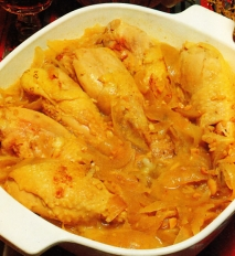 Receta de Jamoncitos de pollo con almendras