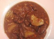 Kawaree ( sopa de patas de ternera)
