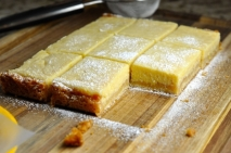 Lemon Bars (cortaditos de limón)