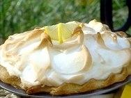 Receta de Lemon curd pie