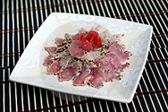 Maguro tataki (Rosbif de atún)