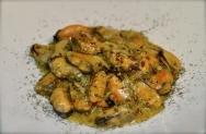 Mejillones a la mostaza