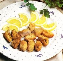 Mejillones fritos