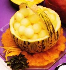 Receta de Melón helado con mango