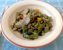 Menestra de verduras tradicional