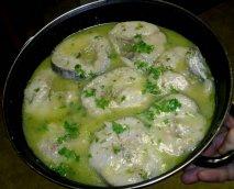 Merluza con salsa verde