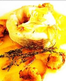 Merluza de palangre con aceite de oliva virgen
