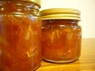 Mermelada de peras con vainilla