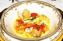 Mezcla a la italiana de moluscos y crustáceos