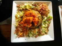 Mofongo relleno de carne o pollo