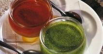 Mojo de pimiento rojo/ verde