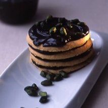Mousse de chocolate con galletas integrales
