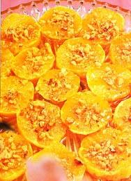 Receta de Naranjas al vino blanco