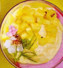 Receta de Nice cream de plátano y piña