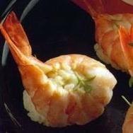Receta de Nigiri - sushi con langostinos