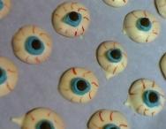 Ojos del terror de Halloween