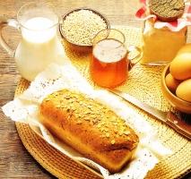 Receta de Pan de miel
