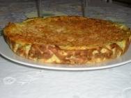 Receta de Pastel de calabacín con arroz con leche