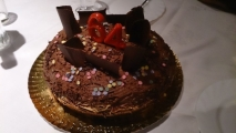 Receta de Pastel de chocolate con mousse de chocolate negro