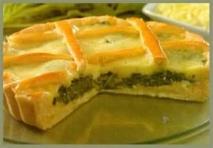 Receta de Pastel de espinacas y queso