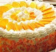 Receta de Pastel de naranja y nata
