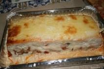 Receta de Pastel de pisto con sardinas