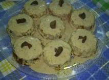 Receta de Pastelitos de pollo con níscalos (rovellones ) y salsa de foie mi-cuit