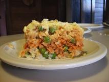 Pastelón de arroz