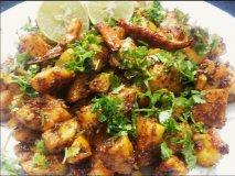 Patatas al estilo hindú (Aloo Malasa)