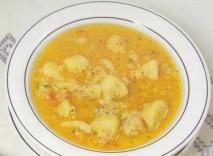 Patatas con bacalao de la yaya Carmen