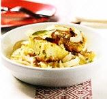 Patatas escabechadas con bacalao