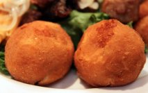Patatas rellenas de carnes picadas