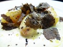 Patatas trufadas