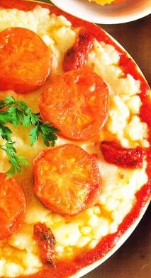 Patatas y tomates