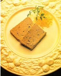 Paté de foie-gras con bulbo de apio