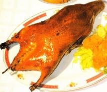 Pato laqueado de Pekín