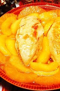 Pechugas de pollo agridulces